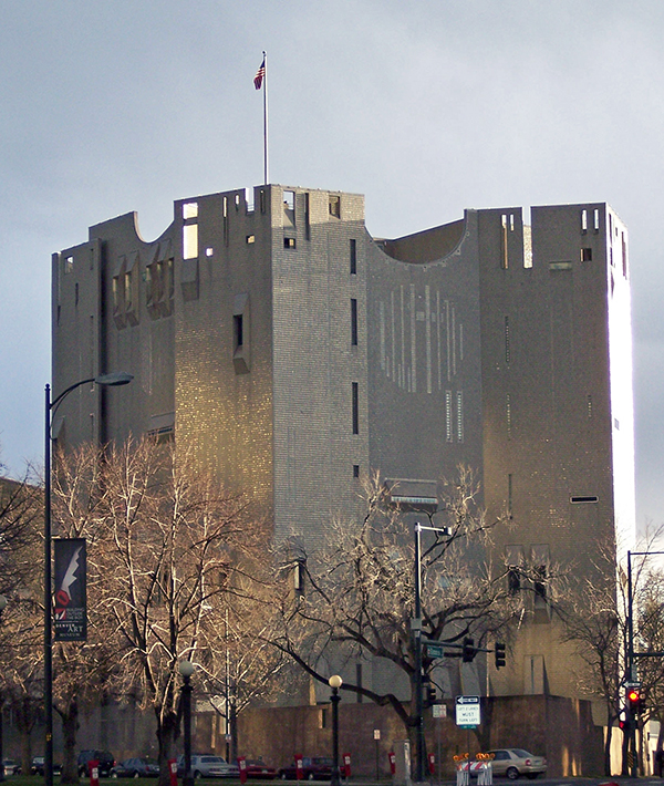 Северное здание художественного музея в Денвере.  Автор24 — интернет-биржа студенческих работ