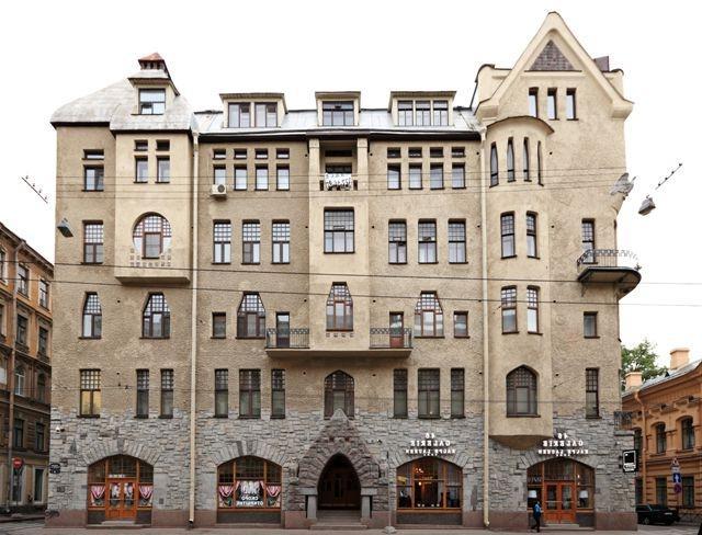 Дом архитектора И. Претро в Петербурге. Автор24 — интернет-биржа студенческих работ