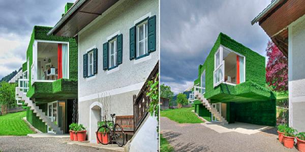 Дом архитектурной студии «Weichlbauer und Ortis». Автор24 — интернет-биржа студенческих работ