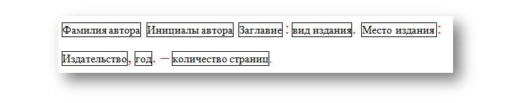 Общая схема компоновки данных в ссылке.