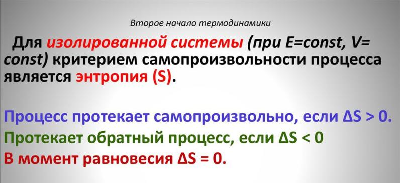 Второе начало термодинамики. Автор24 — интернет-биржа студенческих работ