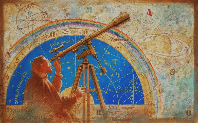 Астрономические наблюдения начала XVII века. Автор24 — интернет-биржа студенческих работ