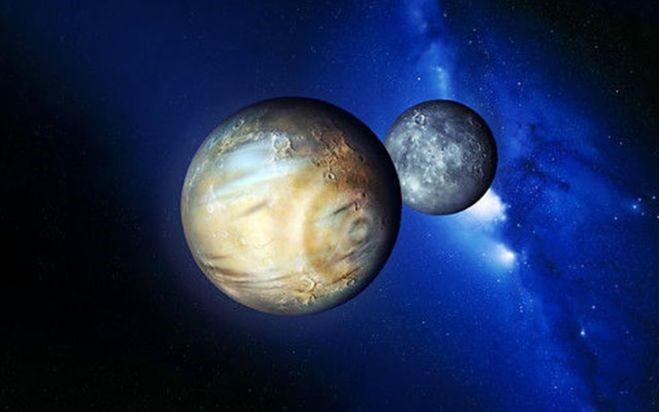 Плутон и его спутник Харон. Автор24 — интернет-биржа студенческих работ