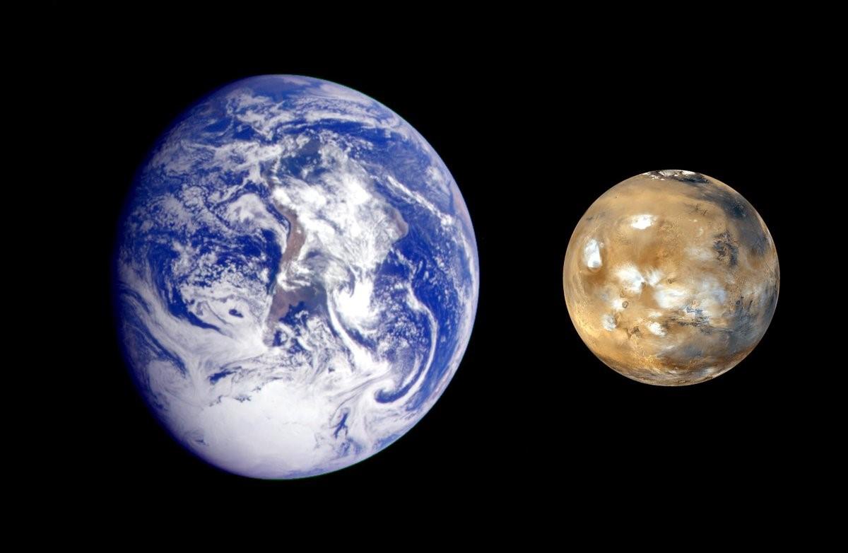 Наблюдаемые спектры атмосферы Земли и Марса. Автор24 — интернет-биржа студенческих работ