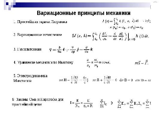 Вариационные принципы классической механики. Автор24 — интернет-биржа студенческих работ