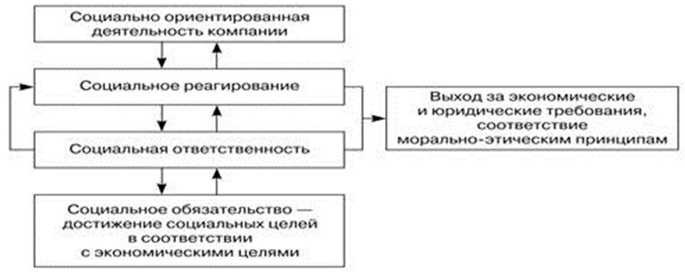 Взаимосвязь структурных компонентов КСО. Автор24 — интернет-биржа студенческих работ