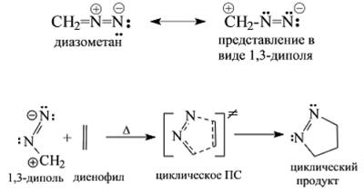1,3-Диполярное циклоприсоединение. Автор24 — интернет-биржа студенческих работ