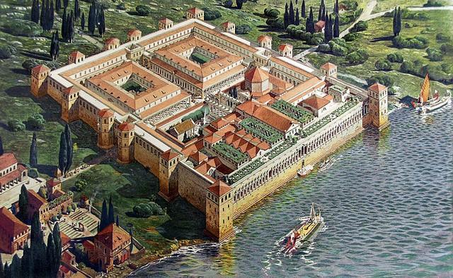 Дворец Диоклетиана в Салоне. Автор24 — интернет-биржа студенческих работ