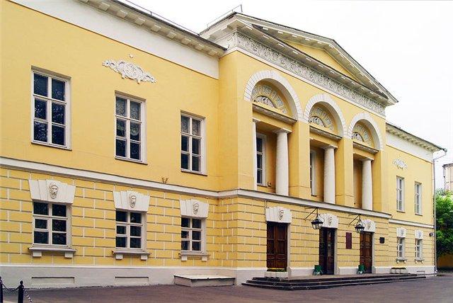 Усадьба Гагариных. Автор24 — интернет-биржа студенческих работ
