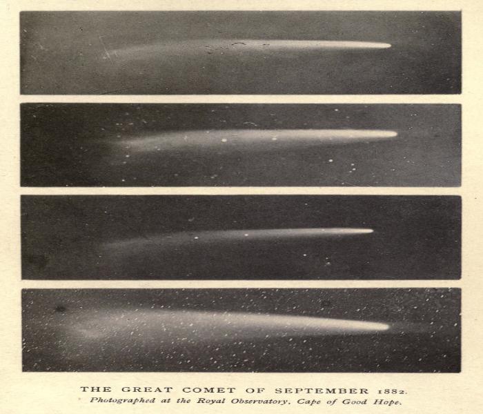 Исследование Гилла: первый фотоснимок Большой Кометы. Автор24 — интернет-биржа студенческих работ