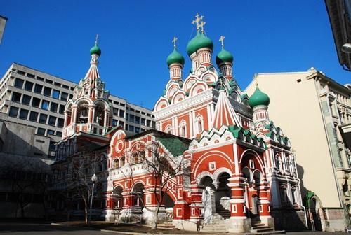 Церковь Троицы Живоначальной в Никитинках