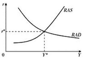 Равновесное состояние в модели RAD-RAS. Автор24 – интернет-биржа студенческих работ