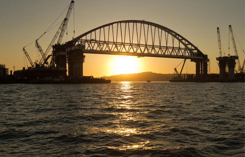Строительство Крымского моста. Автор24 — интернет-биржа студенческих работ