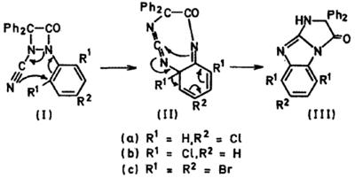 1,2-миграция галогенов в дифенилкетон-арен-диазоцианидных аддуктах. Автор24 — интернет-биржа студенческих работ
