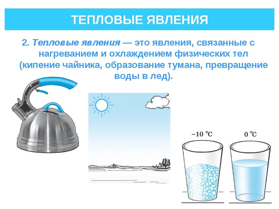 Тепловые явления. Автор24 — интернет-биржа студенческих работ