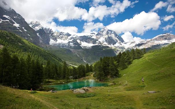 Ландшафт Австрии. Автор24 — интернет-биржа студенческих работ