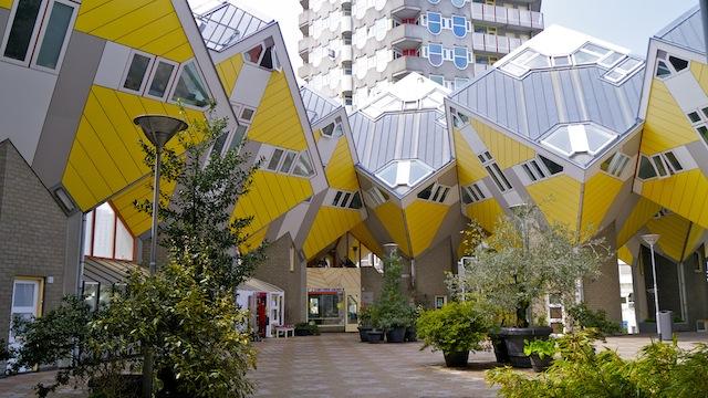 Кубические дома Роттердама. Автор24 — интернет-биржа студенческих работ