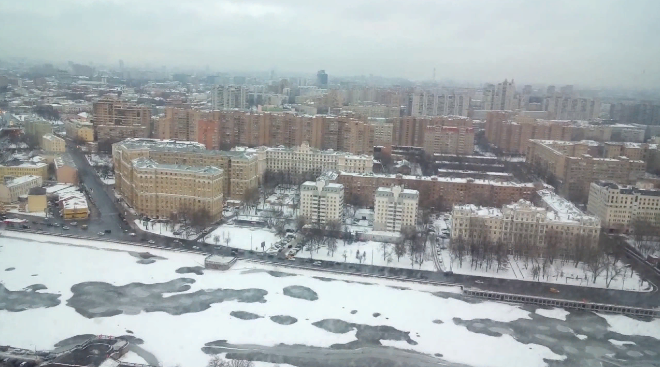 Москва зимой. Автор24 — интернет-биржа студенческих работ