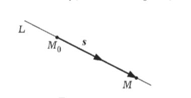 Направляющий вектор прямой L