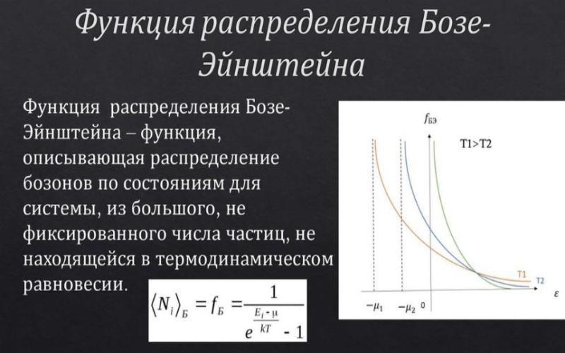 Функция распределения Бозе-Эйнштейна. Автор24 — интернет-биржа студенческих работ