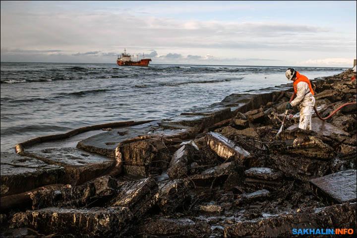 Устранение последствий разлива нефти на Сахалине. Автор24 — интернет-биржа студенческих работ