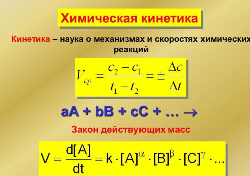 Химическая кинетика. Автор24 — интернет-биржа студенческих работ