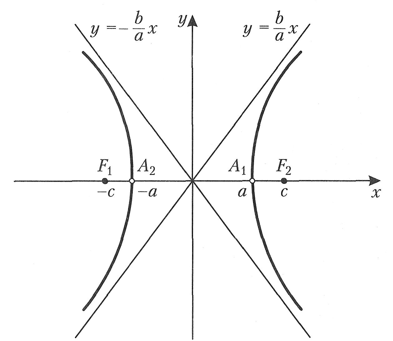 Как выглядит гипербола: пример гиперболы