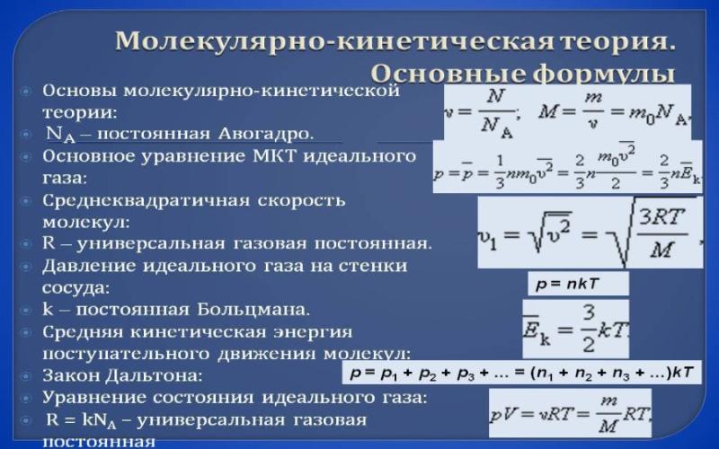 Молекулярно-кинетическая теория. Автор24 — интернет-биржа студенческих работ