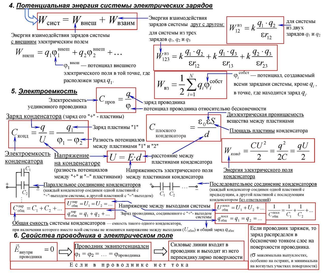 Потенциальная энергия системы электрических зарядов. Автор24 — интернет-биржа студенческих работ
