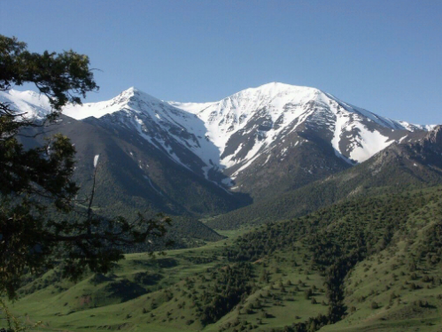 Туркестанский хребет. Автор24 — интернет-биржа студенческих работ