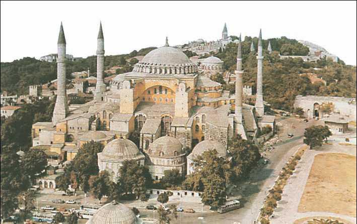 Храм Софии в Константинополе. Автор24 — интернет-биржа студенческих работ