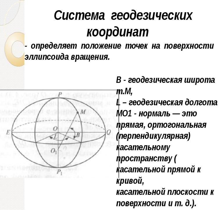 Система геодезических координат. Автор24 — интернет-биржа студенческих работ