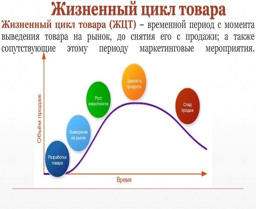 Жизненный цикл товара. Автор24 — интернет-биржа студенческих работ