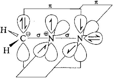 Электронная структура диазометана. Автор24 - интернет-биржа студенческих работ