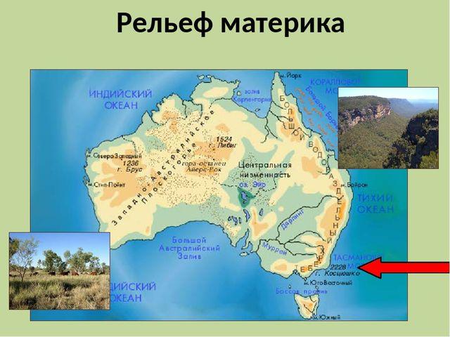 Орография Австралии. Автор24 — интернет-биржа студенческих работ