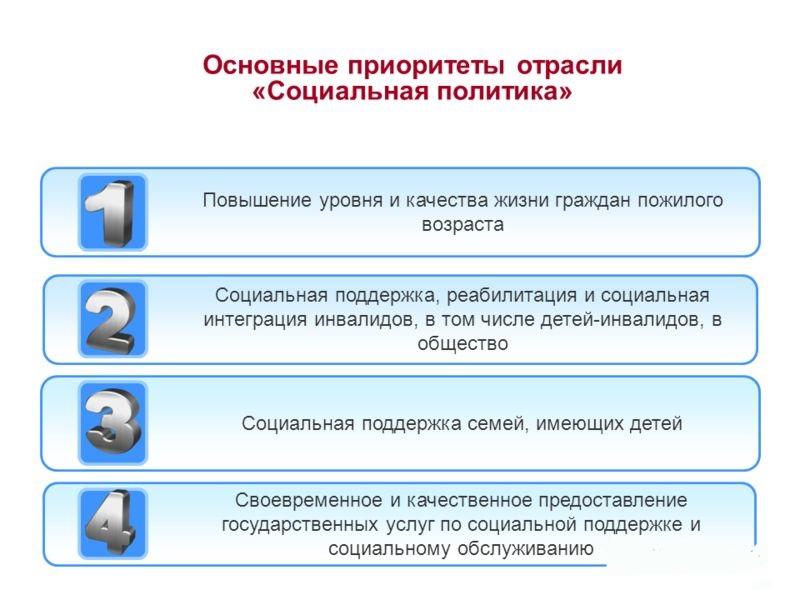 Основные приоритеты социальной политики. Автор24 — интернет-биржа студенческих работ
