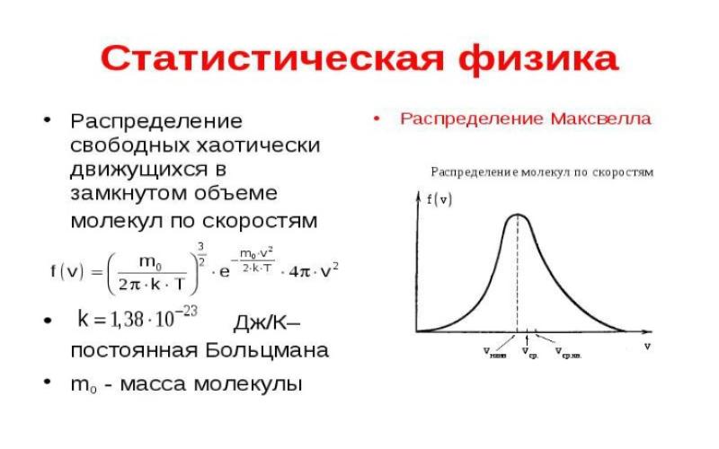 Статистическая физика. Автор24 — интернет-биржа студенческих работ