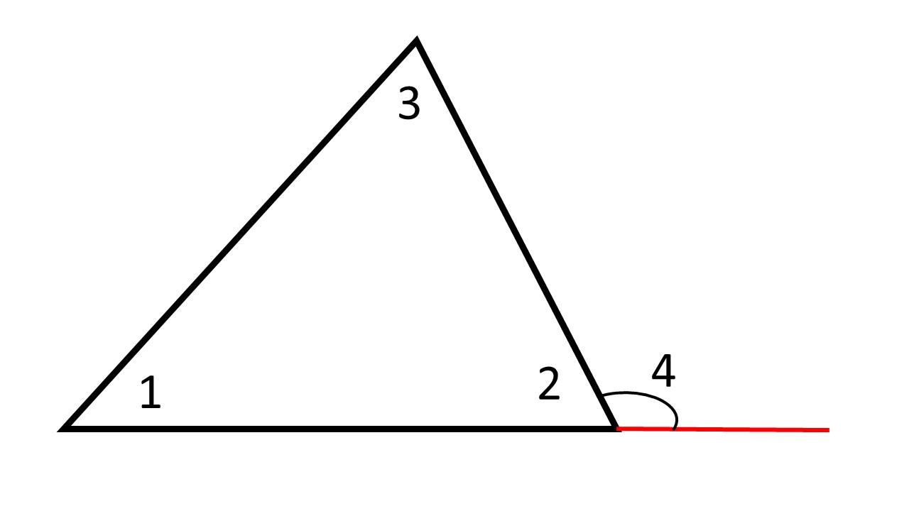 Внешний угол треугольника. Автор24 — интернет-биржа студенческих работ