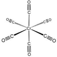Гексакарбонил двухвалентного хрома $Cr(CO)_6$. Автор24 — интернет-биржа студенческих работ