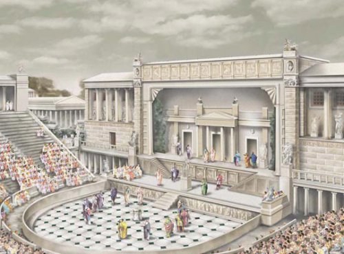 Древнеримский театр. Автор24 — интернет-биржа студенческих работ