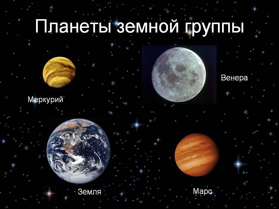 Планеты земной группы. Автор24 — интернет-биржа студенческих работ