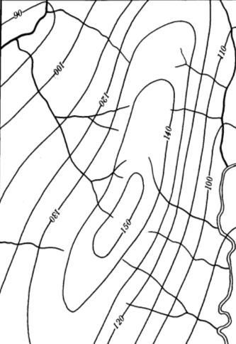 Карта морфоизогипс. Автор24 — интернет-биржа студенческих работ