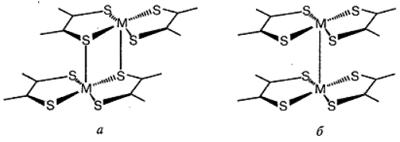 Пространственное расположение бис-дитиола- тов металлов в кристалле (вертикальными линиями обозначено стекинг-взаимодействие). Автор24 — интернет-биржа студенческих работ