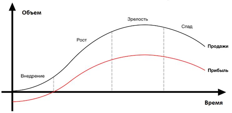 Модель жизненного цикла товара в маркетинге. Автор24 — интернет-биржа студенческих работ